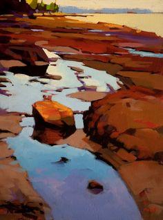 Tide Pools, Gabriola Island, by Mike Svob