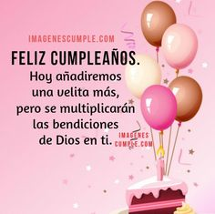 Imagenes de Postales con grandes dedicatorias para regalar a tu hermana en el dia de su cumpleaños Happy Birthday Wishes Quotes, Happy Birthday Pictures, Happy Birthday Greetings, Birthday Messages, Happy Mothers Day Images, Happy B Day, Christian Birthday Cards, Birthday Backdrop, Good Night Sweet Dreams