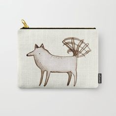 """I'm So Happy"" - Dog Carry-All Pouch"