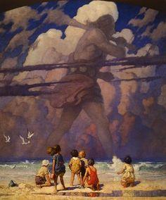 Образы снов - Ньюэлл Конверс Уайет - Гигант - 1923