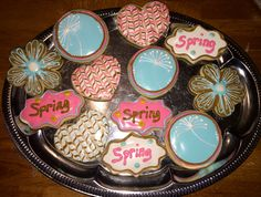 Pretty Spring time cookies!
