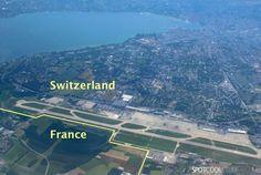 Airport Geneva Switzerland | geneva airport france switzerland border Genevas International ...