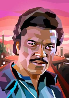 Lando Calrissian ( actor, Billy Dee Williams ) by: Liam Brazier Illustration & Animation