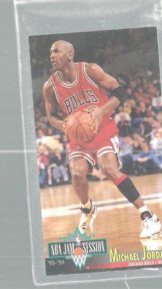 Michael Jordan Chicago Bulls #33Guard 1993-94 Fleer Jam Session Basketball Card   | eBay