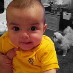 Sweet golden baby girl -- sic 'em #Baylor Bears! (via @lucastrevino) #sicem