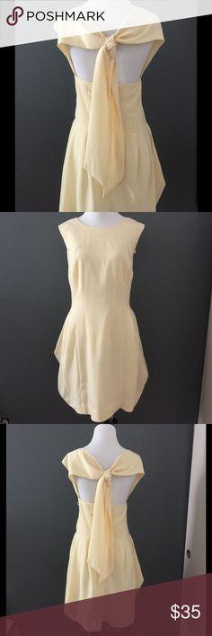 ASOS Goddess Dress Beautiful open back ASOS dress. Sleeveless. Hidden back zip. Lined. 100% Polyester. ASOS Dresses Midi