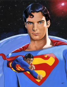 Ed Lloyd's Christopher Reeve as Superman