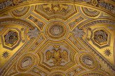 Rom, Santa Maria dell' Anima, Decke der Apsis mit dem doppelköpfigen Reichsadler | da HEN-Magonza