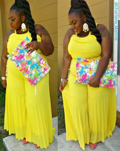 ♚ Chronic Teachings of a Regal Fatty ♚ : First Slay of Spring --- (Cori Coren Boutique & Calibri Designs Feature) Outfits Plus Size, Dress Plus Size, Curvy Outfits, Curvy Girl Fashion, Plus Size Fashion, Petite Fashion, Full Figure Fashion, Trendy Swimwear, Plus Size Beauty
