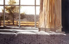 Awaiting Summer by Steve Mills, hyper-realism painting