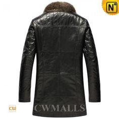 Black Raccoon Fur Coat For Men CW855580