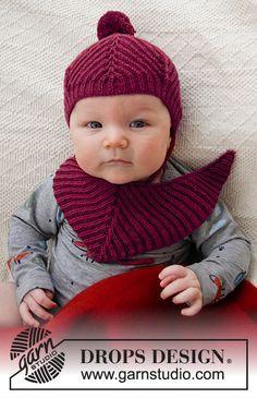 Free knitting patterns and crochet patterns by DROPS Design Baby Knitting Patterns, Free Baby Patterns, Knitting For Kids, Crochet For Kids, Knit Crochet, Crochet Patterns, Drops Design, Knitting Wool, Free Knitting