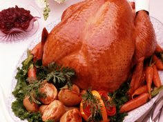 Roast Turkey Recipe, How to Roast a Turkey, Perfect Turkey Recipe, Recipe for Roast Turkey – All Recipes Food Cooking Network Cooking A Stuffed Turkey, Turkey Cooking Times, Thanksgiving Turkey, Thanksgiving Recipes, Holiday Recipes, Christmas Turkey, Happy Thanksgiving, Turkey In Roaster, Roast Turkey Recipes