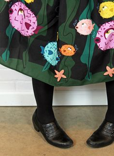 Puffer Fish OOTD on Betties N Brimstone Blog