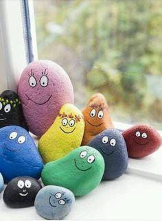 Barbapapa stenen...