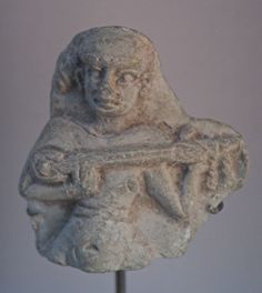 Moulded figurine, Susa. Medo-Elamite period. 14th–12th centuries BC.