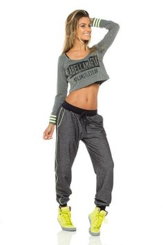 Comfy Gray Pants ★ Hardcore Ladies ★ Fashion  Fitness - More than a brand, a lifestyle. // We Ship Worldwide www.labellamafia.com.br // www.labellamafiaclothing.com