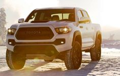 2017 Toyota Tacoma TRD Pro - Kevlar-Reinforced Tires, Rigid Industries LEDs and Black-Dipped Styling Details