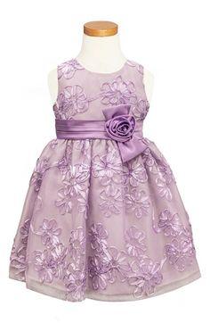 Sorbet Soutache Dress (Toddler Girls, Little Girls & Big Girls) available at #Nordstrom
