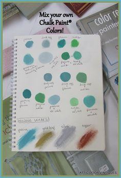 Mix Any Color You Need With Chalk Paint By Annie Sloan
