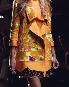 davidurbanke:    Loved this jacket at Peter Som S/S 13
