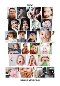 Láminas con imagenes reales para trabajar las emociones de la burbuja del lenguaje -Orientacion Andujar Emotions Cards, Feelings And Emotions, Emotions Preschool, Preschool Activities, Bike Craft, Whole Brain Teaching, Theme Noel, Color Crafts, Les Sentiments