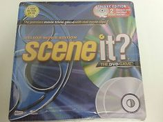 Scene-It-Deluxe-Movie-Edition-in-Collector-Tin-2-DVDs-Brand-New-Sealed