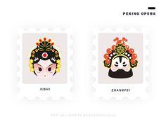 Peking opera by Miti