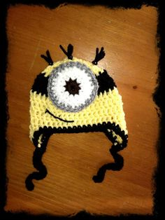 Back to school SALE..One eye minion by krinercreations on Etsy, $15.20
