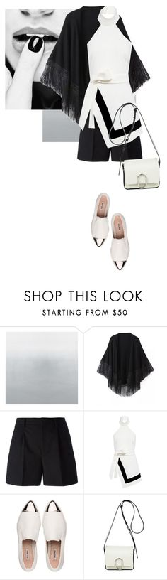 """""""Untitled #399"""" by noonemore ❤ liked on Polyvore featuring Relaxfeel, Yves Saint Laurent, Finders Keepers, Miu Miu and 3.1 Phillip Lim"""