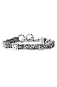 Lois Hill 'Classic' Square Station Bracelet, $258