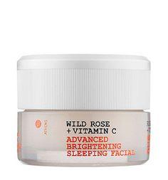 WILD ROSE + VITANIM C ADVANCED BRIGHTENING SLEEPING FACIAL