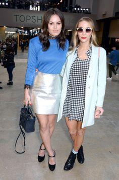 Atlanta De Cadenet & Harley Viera Newton are fashion partners in crime.