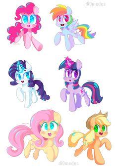 A bunch of ponies by buljong