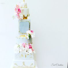 Floral wedding cake - Cake by Swt Creation