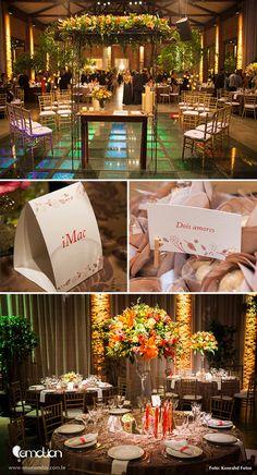 Coral Wedding decoration | Decoração coral para casamento