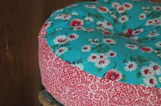 great vintage fabric pillow - enhabiten