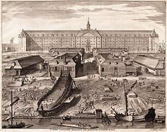 Dutch East India Company  Between 1602 and 1796 the VOC sent almost a million Europeans to work in the Asia trade on 4,785 ships, and netted for their efforts more than 2.5 million tons of Asian trade goods.