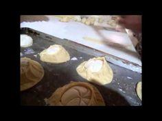 Variedad de Pan dulce de la masa de la concha (arracadas, manos, armadillos) - YouTube