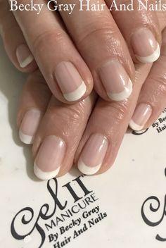 French manicure #gel_two #gelii #showscratch #scratchmagazine #nailart #frenchpolish #frenchmanicure #nails #gelnails