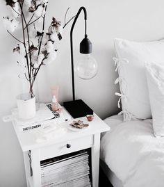 42 Stylish Bedside Deco Ideas – Captain Decor , 42 Stylish Nightstand Decor Ideas – Captain Decor , Home decor Source by msangelness Cute Dorm Rooms, Cool Rooms, My New Room, My Room, Home Bedroom, Bedroom Decor, Bedrooms, Bedroom Furniture, Star Bedroom