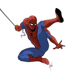 #Spiderman #Fan #Art. (Spider-Man) By: Mike Mahle. ÅWESOMENESS!!!™ ÅÅÅ+