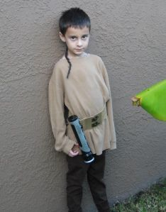 How to make a Star Wars Jedi costume
