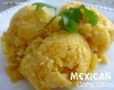 Broncos v Chiefs tailgate   Mexican Corn Cake  good as a side dish or a dessert