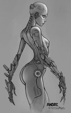 Andre sketch, Boris Dyatlov on ArtStation at https://www.artstation.com/artwork/lDzoz