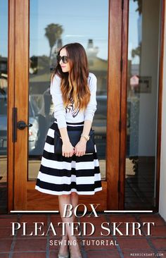 1000 ideas about box pleat skirt on pinterest pleated skirts skirts and skirt online. Black Bedroom Furniture Sets. Home Design Ideas