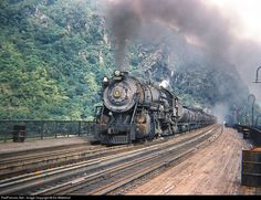 RailPictures.Net Photo: B&O 6190 Baltimore & Ohio (B&O) Steam 2-10-2 at Harpers Ferry, West Virginia by Ed Wittekind