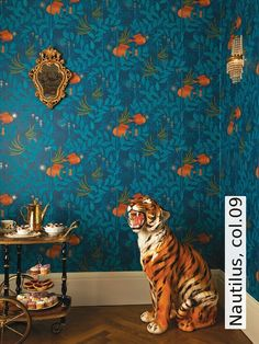Tapete Nautilus, Col.09 | Die TapetenAgentur Moderne Wandgestaltung, Moderne  Muster, Tapete