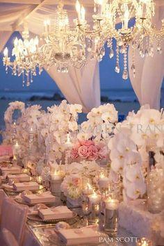 #Beach wedding decor (repined by Salvatore's, A Chicago Wedding Venue)