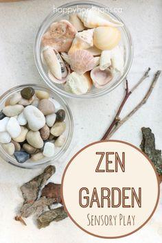Zen Garden Sensory Play - Happy Hooligans for CBC PARENTS